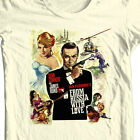 James Bond T-shirt From Russia with Love Sean Connery 100% cotton graphic tee $24.99 USD