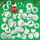 Cake Decorating Tools Fondant Icing Cutters Sugarcraft Tools Plunge Xmas Moulds