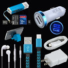 7Kits Car Wall Charger Cable Headset Card Reader Phone Holder For Samsung Galaxy