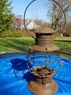 Early Railroad Bell Bottom Lantern   No makers name  found Patent 1882 BARON??
