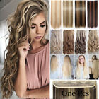 AU 100% Real as remy Hair Clip in Full Head Human Hair Extensions Extentions FA2