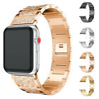 1* New Metal Wrist Bracelet Metal Clasp Band For Apple Watch iWatch 38mm/42mm