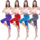 3/4 Capri Leggings Fitness Pants Running Sports Yoga Base Layer Pants Crop Jeans