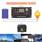 LCD 10-50A DC12/24V automatic Solar Panel Battery Regulator Charge Controller