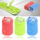 Household Reusable Cleaning Pad Microfiber Mop Cloth Head Floor Dust Flat Tool