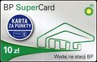 Gift Crd BP SuperCard 10 zl - Loyalty Plastic Card BP / British Petroleum