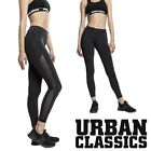 Urban Classics Damen Ladies Tech Mesh Stripe Sport Leggings Leggins Yoga Pants