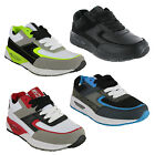 Mercury Louis Lace Up Casual Cushioned Sports Boys Trainers UK13-6