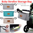 Baby Stroller Pram Pushchair Travel Organizer Storage Bag Bottle Diaper Holder