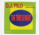 DJ FILO feat AMADEUS.....THE TIME IS RIGHT.....MAXI 45T