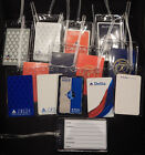 Luggage tag Delta Air Lines w/playing card choose from multiple designs