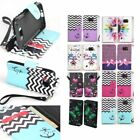 For Samsung Galaxy S6 Active G890 Hybrid PU Leather Wallet Pouch Case Flip Cover