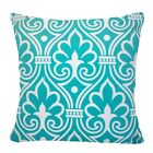 "20x20"" Soft Velvet Turquoise Blue Throw PILLOW COVER Sofa Couch Bed Cushion Case"
