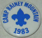 "Boy Scouts ""Camp Rainey Mountain 1983"" Pin Approx 1"""