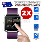 2/4/5/6x Premium Tempered Glass HD Screen Cover Film Protector For Fitbit Blaze