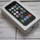 EMPTY BOX ONLY RETAIL PACKING WITH FACTORY FILM SEAL WRAP FOR APPLE IPHONE 5S 5