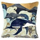 Blue Ocean Accent Decorative Throw PILLOW COVER Sofa Couch Cushion Case 18x18