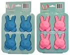 MOMENTUM* 1 Set SILICONE BUNNY MOULD Ice+Baking HAPPY EASTER Mold *YOU CHOOSE*