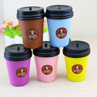 Creative Squishy Soft Coffee Cup Home Decoration Gift Toys Cell Phone Decor