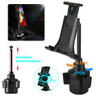 QI Wireless Fast Charger Car Mount Holder Stand For iPhoneX 8 Plus Samsung S9 S8