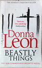 Buch Donna Leon Beastly Things Commissario Brunetti Novel Sunday Times Bestselle
