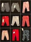 Gymboree NWT Girls Baby Toddler Pull On Pants Selection Many Sizes!