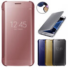 For Samsung Galaxy J3 2017/Emerge/Prime Luxury Mirror Flip Smart View Case Cover