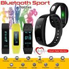 Kyпить 2018 Bluetooth Smart Watch Bracelet Heart Rate Fitness Activity Tracker Monitor на еВаy.соm