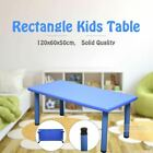 120cm 60cm Kids Rectangle Square Toddler Children Playing Party Study Table Desk