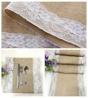 Hot Hessian Burlap Wedding Table Runner Natural Jute Rustic Party Country Decor