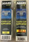 Two Adams USA Youth Cup Supporter Jock Strap Size Medium or Large NIP Polyester