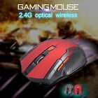 New 2.4Ghz portable Wireless Optical 6D 2000DPI Adjustable Gaming Mouce Mice