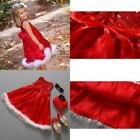 Newly Super Delicate Baby Girls Kids Christmas Party Red Paillette Tutu Dresses