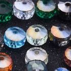 6x8mm Wheel Loose Crystal Glass Beads Jewelry Making DIY Necklace Bracelet Link