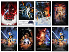 Star Wars Pictures Classic Movie Poster /Wall Canvas Print 7 Versions A1/A2/A3