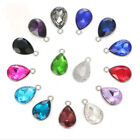 30Pcs Mixed colors Crystal Rhinestone Teardrop Round Rectangle W/Setting Charms