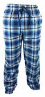 BHS SleepLounge Blue Mens Pyjama Bottoms 100% Cotton Checked Comfort Night Pants