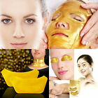 Gold Eye Mask Patches Collagen Crystal Gel Powder Bio Pad Face Anti Aging