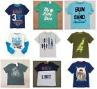 NWT Gymboree Boys Graphic Tee Shirt Size 4 5 6 & 7 Selection!