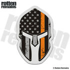 American Subdued Flag Thin Orange Line Spartan Decal SAR Gloss Sticker HVG