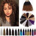 short curly weave - Curly Hair Extensions Weave Brazilian Goddess Braid Hairstyle Ombre Short ss19