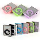 Mirror Clip USB Digital Mp3 Music Media Player Support 1-8GB TF Card Gift USA