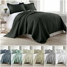Chezmoi Collection Rebecca 3-Piece Jigsaw Pre-Washed 100% Soft Cotton Quilt Set image