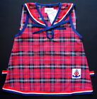 BABY GIRLS Clothing DRESS Red Check Tartan Dress Cotton Casual Formal Clothing