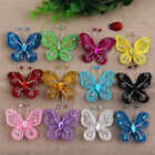 """20/50pcs Organza Butterfly Craft Wedding Party Decoration 12 Colors 2"""""""