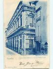 Pre-1907 ADVERTISING POSTERS ON WALL Vicenza Italy hJ6641
