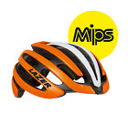 Lazer Z1 MIPS Road Cycling Bicycling Racing Adult Bike Helmet ORANGE/WHITE