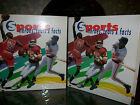 SPORTS, HEROES, FEATS & FACTS--2 HARD COVER ALBUMS