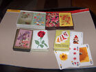 Playing cards - Playing Crds Decks FLOWERS  Lot 4