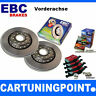 EBC B01 Brake Kit Front Pads DISCS FOR FIESTA COURIER 2 J5, J3 dp1051 D316